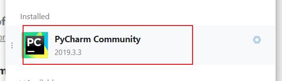 Pycharm Community
