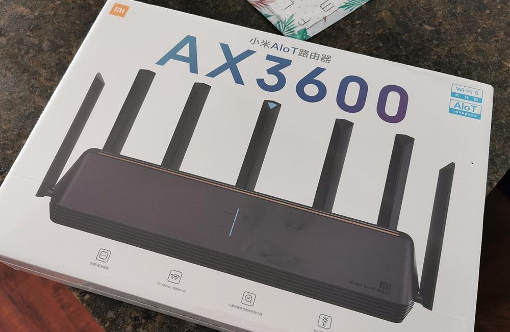 小米路由器AX3600