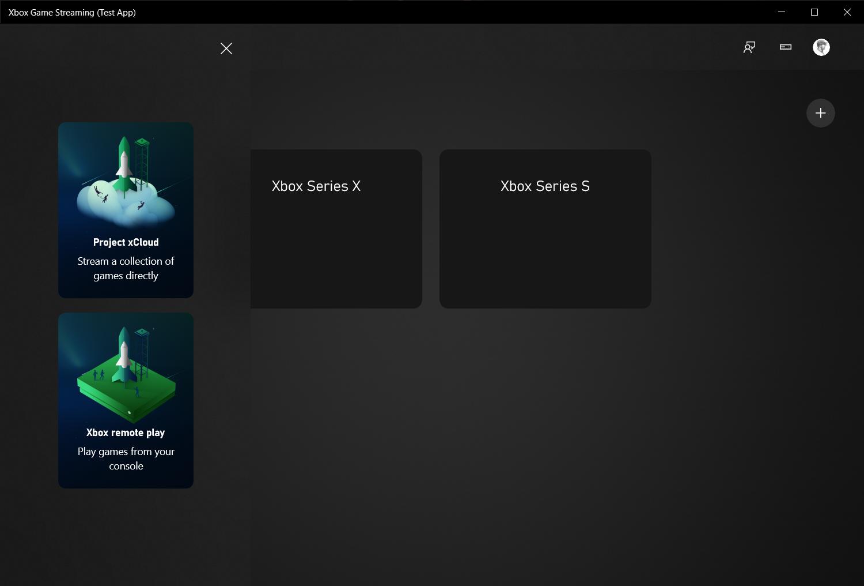 Xbox Game Streaming 测试应用程序
