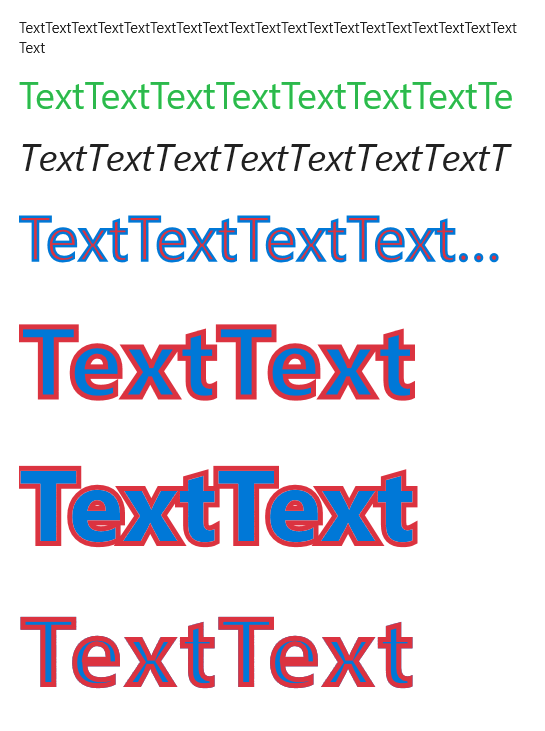 OutlineText