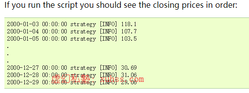 20210630185905 - Python量化交易实战-35PyAlgoTrade量化交易回测框架官方示例详解