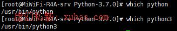 20210710121804 - Python flask实战订餐系统微信小程序-05Linux下Python安装