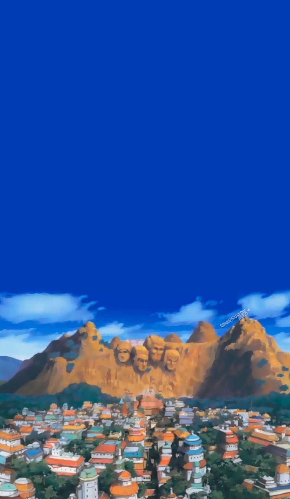 动漫里的绝美风景壁纸,壁纸尺寸:1000*1718 火影忍着背景