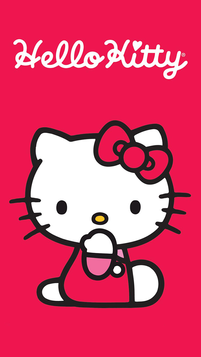 可爱HelloKitty手机壁纸(1) 壁纸尺寸640*1132