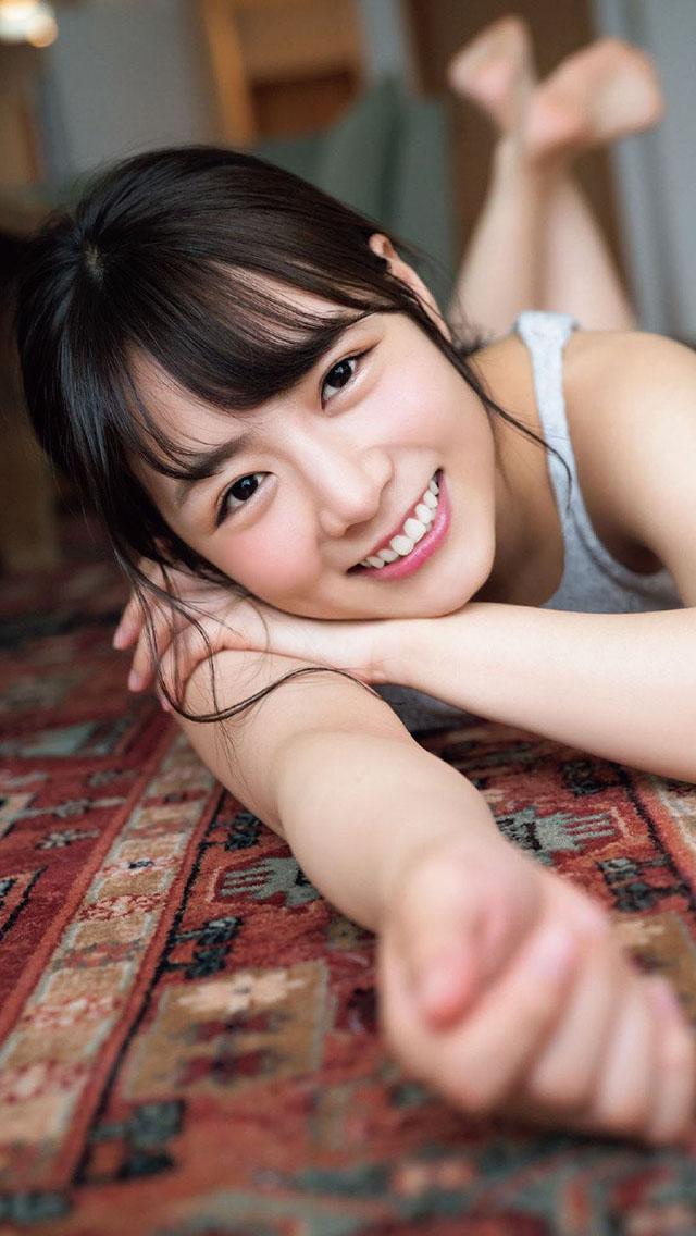 日本模特北野日奈子日常写真壁纸