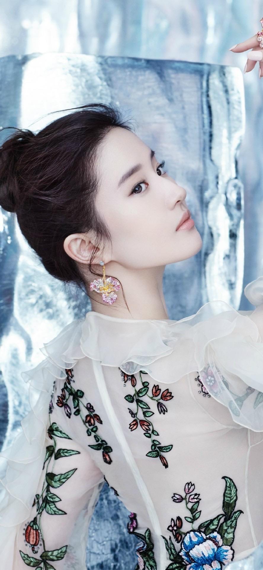 刘亦菲时尚小仙女手机壁纸