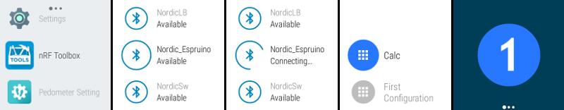 Android BLE串口程序: Android BLE串口程序,可配合nrf51822 串口例程使用