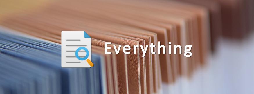 Everything 免费文件极速搜索工具神器
