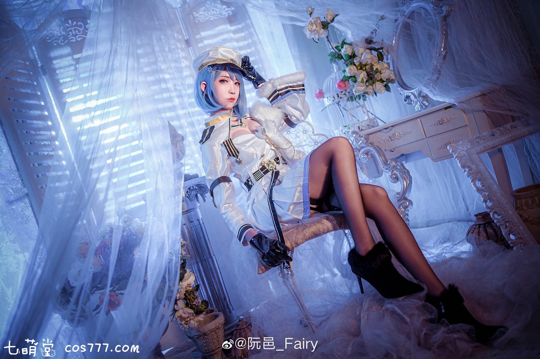 微博二次元博主阮邑Fairy付费cosplay写真图集百度云网盘 COS合集