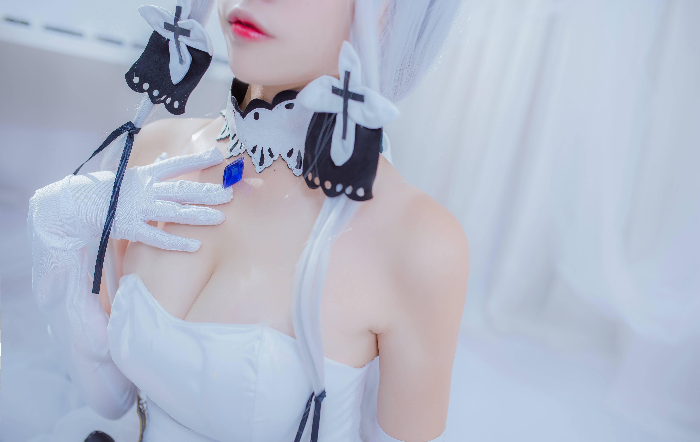 【二佐Nisa】cosplay《碧蓝航线》光辉写真本 次元美图