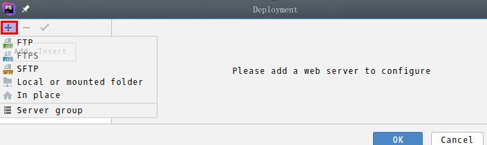 phpstorm-部署方式