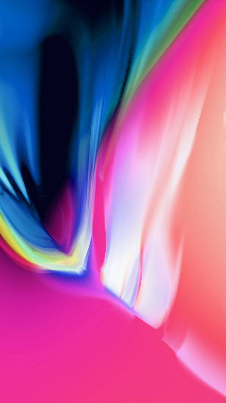 750*1334,抽象绚丽色彩手机壁纸,iPhone手机壁纸